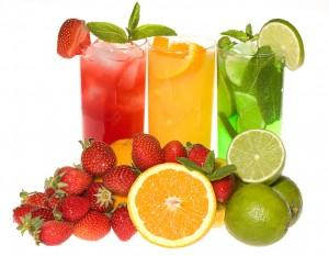 kéfir fruits