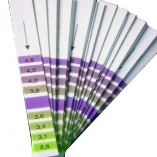 Papier pH en bandelettes (20)